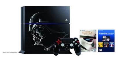 Star Wars Battlefront tendrá un bundle con un PS4 de Darth Vader