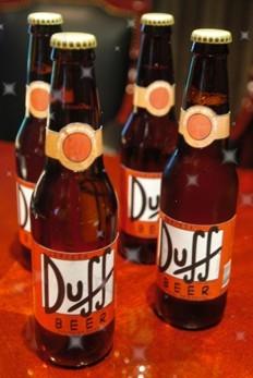 Cerveza Duff, pero de verdad