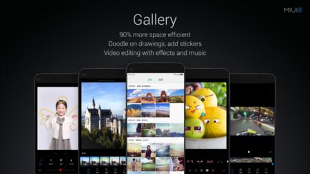 Miui 8 New Gallery App
