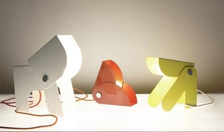 Anim, originales lámparas infantiles inspiradas en animales