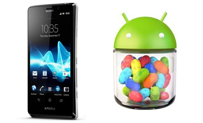 Sony Xperia T Jelly Bean