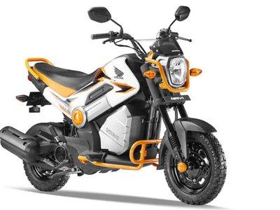 Honda Navi, una MSX reconvertida a scooter desenfadado
