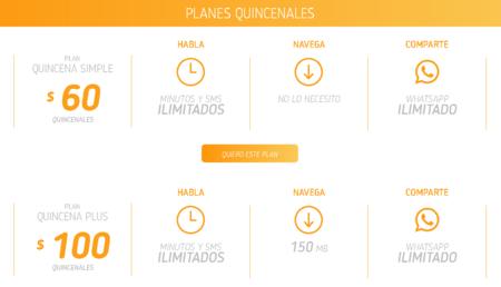 Qbocel Planes Quincenales