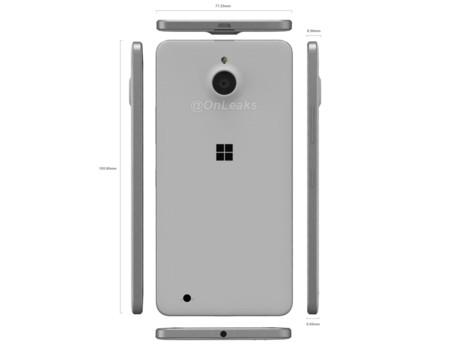El más fino y el más alto, así promete ser el Lumia 850 según los últimos renders filtrados