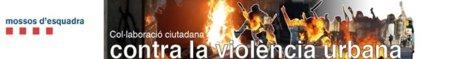 """Los Mossos d'Esquadra retiran la foto de un menor de la web para delatar """"violentos"""""""