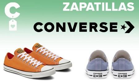 Las mejores ofertas en zapatillas para aprovechar el 25% EXTRA en Converse: Chuck Taylor, Chuck 70 y All Star más baratas
