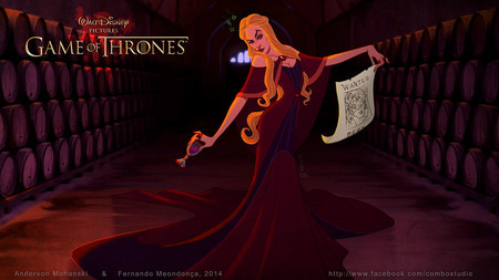 Game Of Thrones Disney Style Illustration Combo Estudio 3 5aafaa8d24326 880