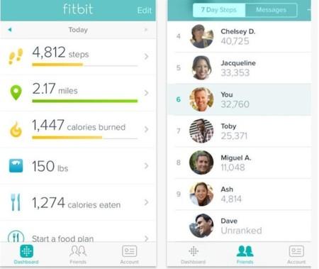 Fitbit aprovecha el chip M7 del iPhone 5S