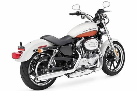 Harley Davidson XL 883L Sportster Superlow