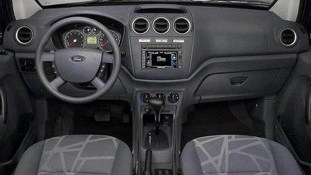 Ford Transit interior