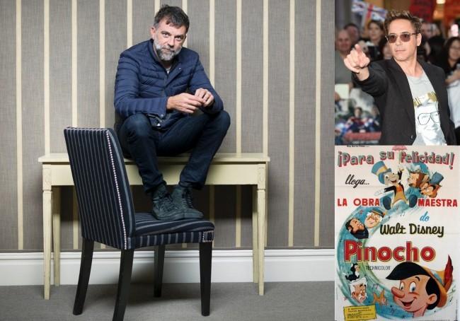 Paul Thomas Anderson, Robert Downey Jr. y Pinocho