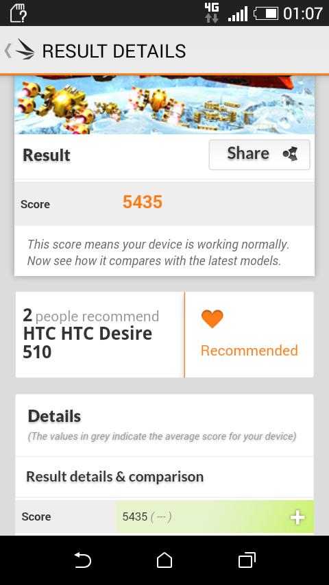 Foto de HTC Desire 510, rendimiento (7/19)