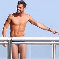 Quiero llegar a los 42 años tan estupendo como Ricky Martin