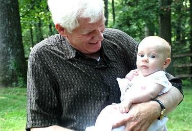 Cuanto mayor sea la madre, mayor es el abuelo