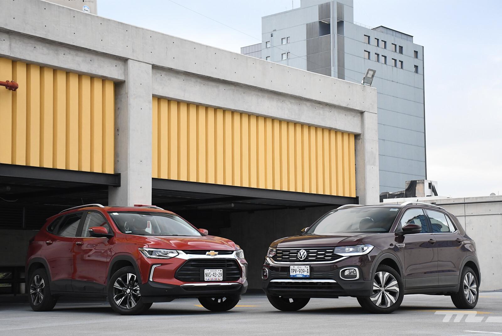 Foto de Chevrolet Tracker vs. Volkswagen T-Cross (comparativa) (3/29)