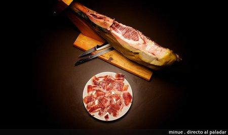 El placer del jamón recién cortado