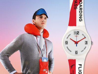 """Oda al viaje y al estilo: reloj Go To Gate de la colección """"A Traveler's Dream"""" de Swatch"""