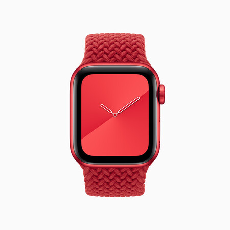 Apple World Aids Day 2020 Product Red Apple Watch Braided Solo Loop 12012020