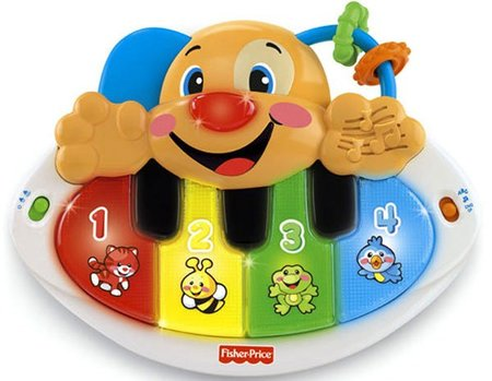 Piano Perrito Aprendizaje Fisher-Price 2