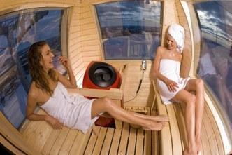 Traslado en la primera sauna-telecabina del mundo en Finlandia