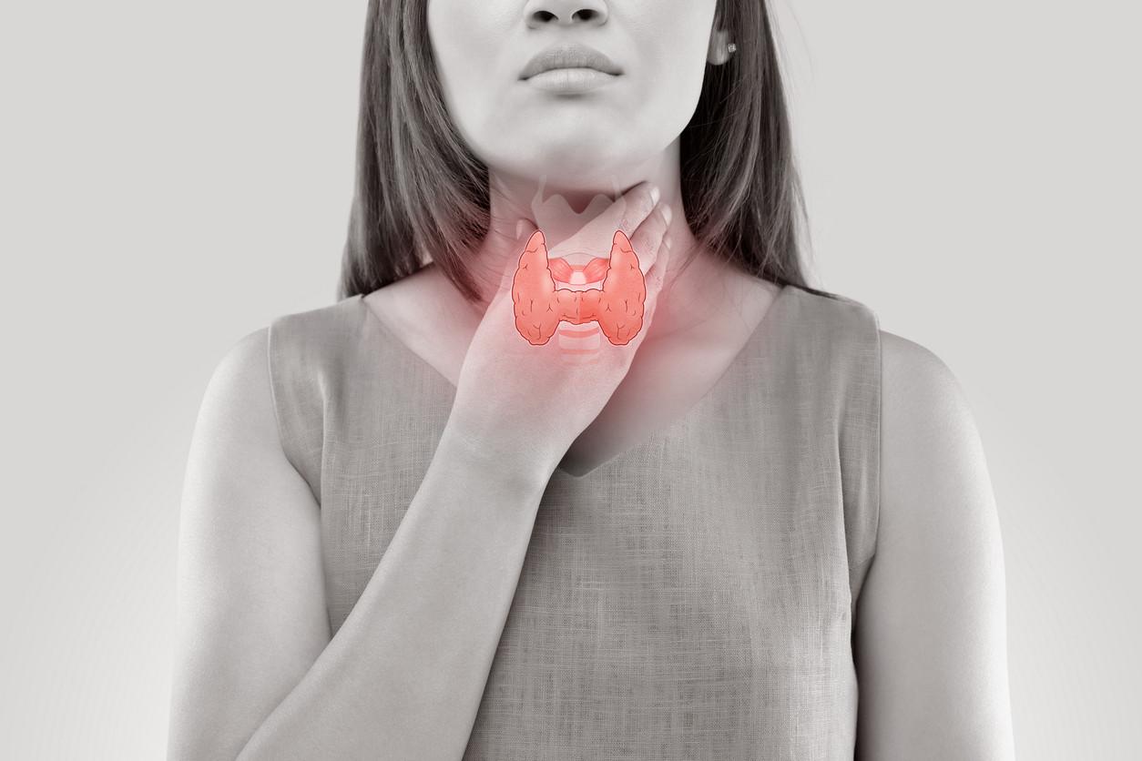 como se da la tiroides