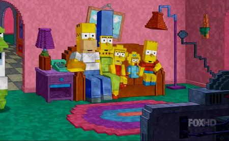 FOX realiza una divertida parodia de Minecraft en Los Simpsons