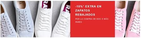 2 cupones de descuento en Zalando si compramos al menos dos artículos: 15% extra en zapatos y 20% en una selección para mujer