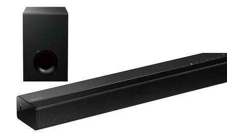 El sonido de nuestra TV plana, mejora por sólo 109 euros con la barra de sonido Sony HT-CT80