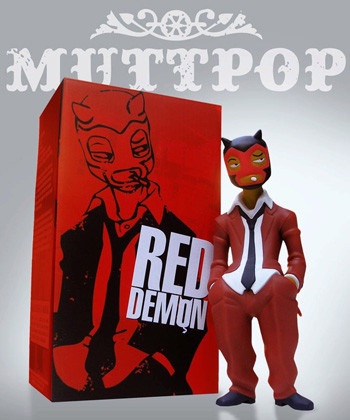 Red Demon, el chulo de la pandilla Muttpop