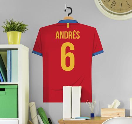 Vinilo Seleccion Espanola Camiseta Personalizada 13089