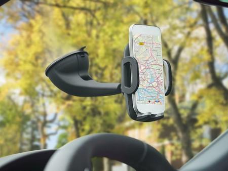 Soporte De Smartphone Para Coche Con Cargador 2