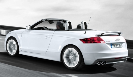 Audi TT Roadster blanco