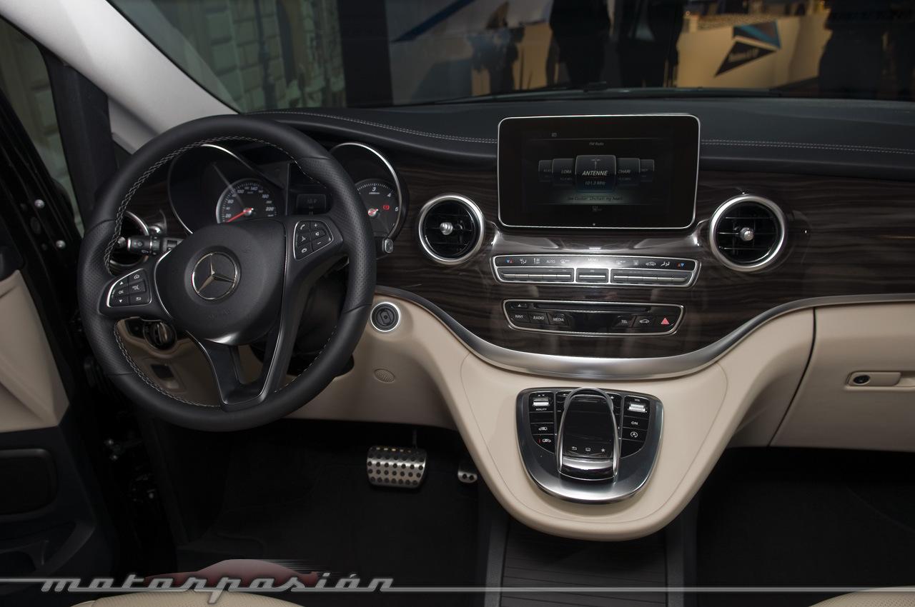 Foto de Mercedes-Benz Clase V (presentación) (37/40)