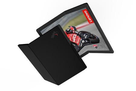 Lenovo lleva un paso más allá la aplicación de las pantallas flexibles: este es su PC con Windows 10 totalmente plegable