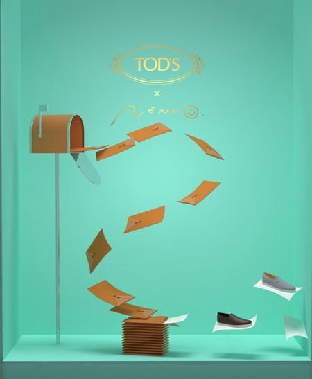 El náutico Envolope de Tod's creado en colaboración con el arquitecto y diseñador Oki Sato