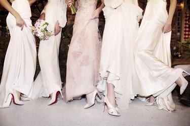 ¿Te gustaría casarte con unos Louboutin? Échale el ojo a los diseños que han desfilado en la Bridal Fashion Week 2017
