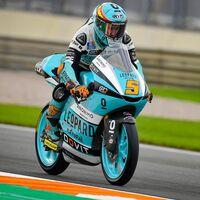 Jaume Masià no tira la toalla y empieza dominando en los primeros entrenamientos de Moto3