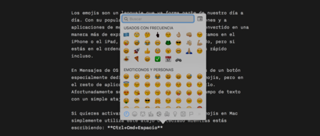 Emojis escribiendo