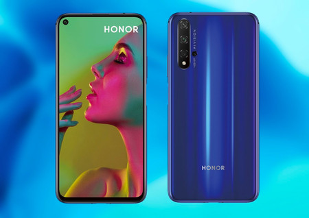 Honor 20 Trasera Frontal