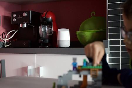 Google Home En Cocina