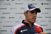 """Entrevista a Pastor Maldonado: """"la decisión de dejar el equipo ha sido difícil"""""""