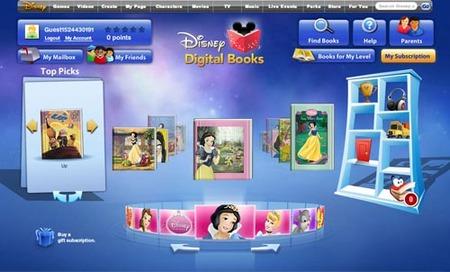 Disney Digital Books para leer libros infantiles online