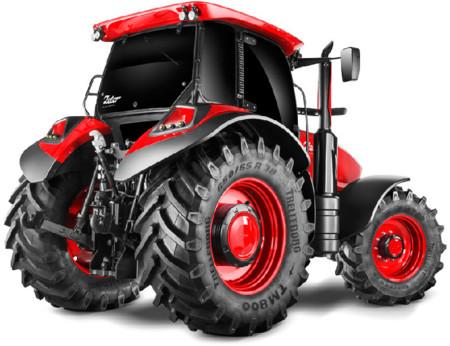 Zetor es la razón por la que te comprarías un tractor diseñado por los padres del Ferrari FF