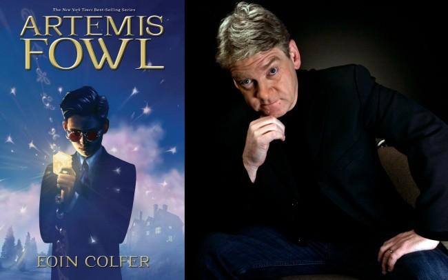 Kenneth Branagh y Artemis Fowl