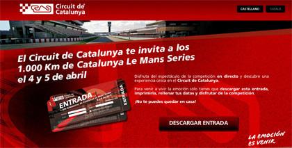 El Circuit de Catalunya te invita a las Le Mans Series
