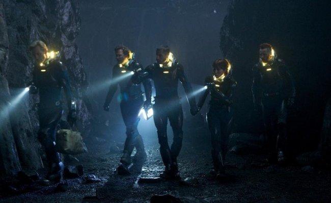 Los protagonistas de 'Prometheus'