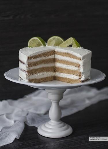 Tarta de mojito. La receta para amantes de este cóctel cubano