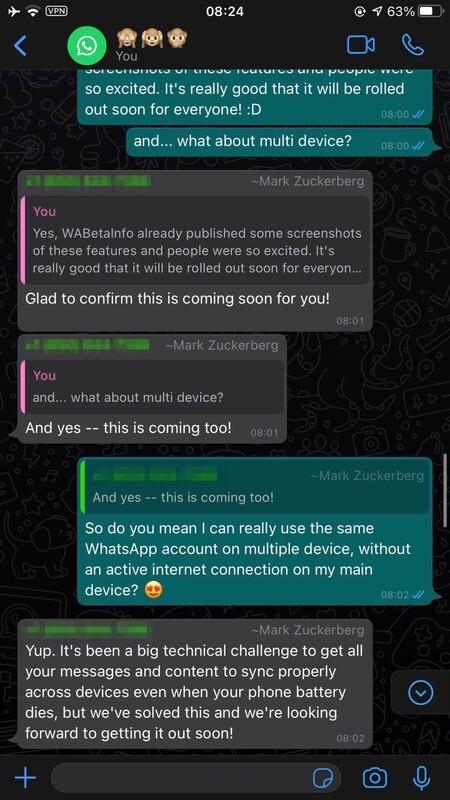 Whatsapp Modo Multidispositivo Confirmado