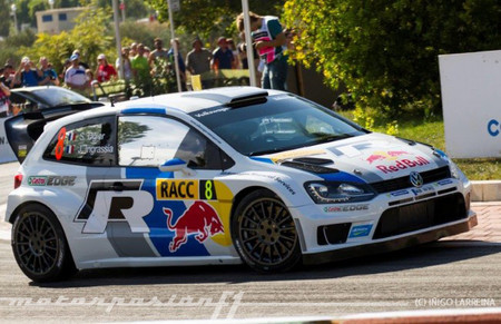 Rally de Catalunya 2013: Sébastien Ogier comienza con pleno