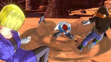 El Personaje misterioso de Dragon Ball: Xenoverse también puede convertirse en Super Saiyajin